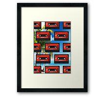 tape .01 Framed Print
