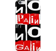 No Pain No Gain v2.0 iPhone Case/Skin