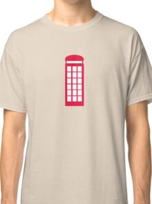 phone booth Classic T-Shirt