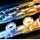 Rainbow Flute by kathrynsgallery
