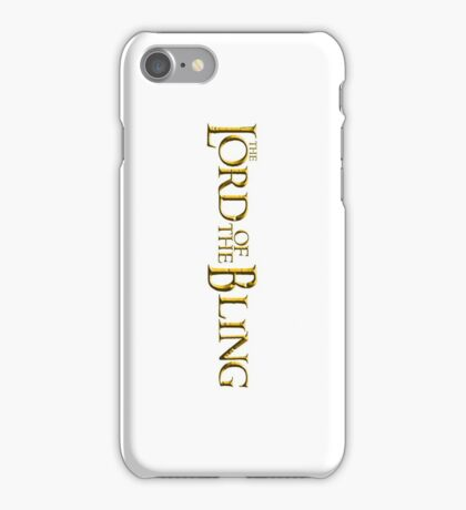 The Lord of the Bling iPhone Case/Skin