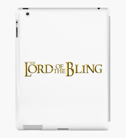 The Lord of the Bling iPad Case/Skin