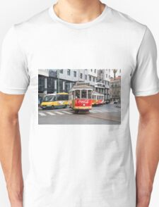 Electric Tram Lisbon Unisex T-Shirt