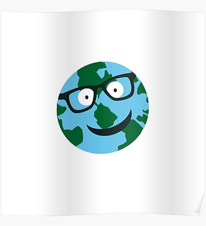 Nerdy Earth Poster