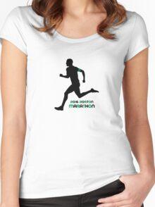 2016 Boston Marathon Women's Fitted Scoop T-Shirt
