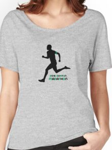 2016 Boston Marathon Women's Relaxed Fit T-Shirt