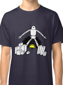 Robot in the sunset Classic T-Shirt