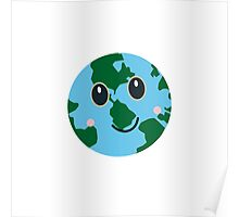 Happy Earth Poster