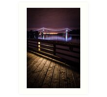 Lions Gate Bridge - Vancouver, Canada Art Print