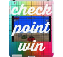 Checkpoint win iPad Case/Skin
