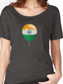 Indian flag Women's Relaxed Fit T-Shirt
