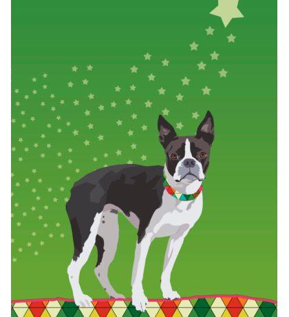 Meryl the Boston Terrier Sticker