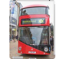 New London bus Prototype iPad Case/Skin