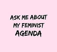 Feminist agenda by Kate Sortino