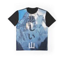 Sad mountain Graphic T-Shirt