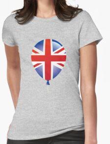 United Kingdom flag Womens Fitted T-Shirt