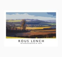 Rous Lench (Railway Poster) One Piece - Short Sleeve