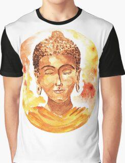 Meditating Buddha Graphic T-Shirt