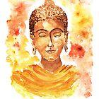 Meditating Buddha by rita-art