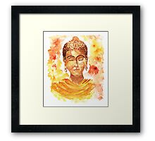 Meditating Buddha Framed Print