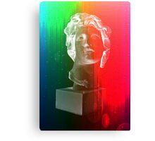 Rainbow bust Canvas Print