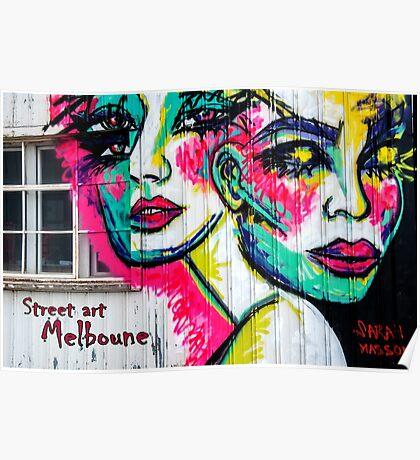 Street Art  Melbourne  #122 Poster