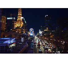 The Strip Photographic Print