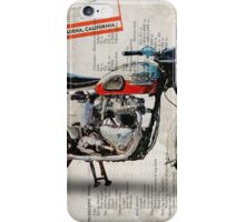 Triumph Bonneville T120 1956 iPhone Case/Skin