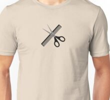 scissors & comb Unisex T-Shirt
