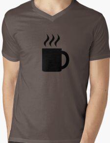 Hot beverage cup Mens V-Neck T-Shirt