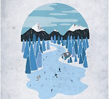 Pond Hockey by Sam Brewster