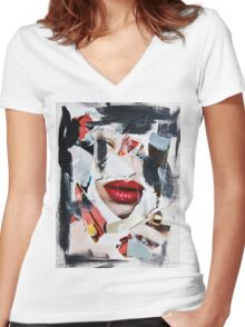 AC No.02 Women's Fitted V-Neck T-Shirt