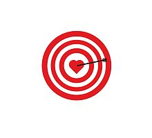 Target with Heart by ilovecotton