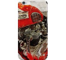 Triumph Bonneville t120 1969 iPhone Case/Skin