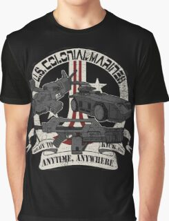 Anytime, Anywhere. Graphic T-Shirt