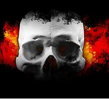 Skulls of fire by BURPdesigns