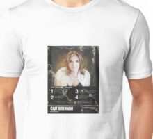 Cait Brennan - Debutante Distressed Retrotastic 8-Track Label Tee! Unisex T-Shirt
