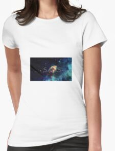 Cosmic sans Womens Fitted T-Shirt
