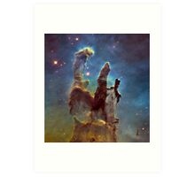 The Pillars of Creation Art Print
