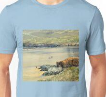 Perranporth Beach. Cornwall UK Unisex T-Shirt