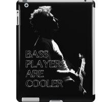 u2 adam bass players iPad Case/Skin