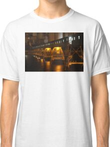 Wallaroo Jetty at Night part 4 Classic T-Shirt