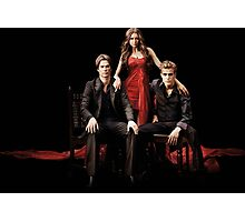 Vampire Diaries-Triangle Photographic Print