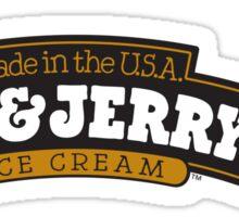 Ben & Jerry's Logo Sticker