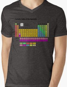 Periodic Table of the Elements Mens V-Neck T-Shirt