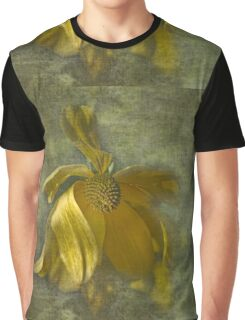 Floral Study - Faded Beauty Graphic T-Shirt