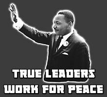 MLK, True Leader Photographic Print