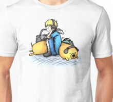 Headphones (with Finn and Jake) Unisex T-Shirt