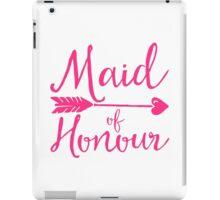 Maid Of Honour Wedding Quote iPad Case/Skin