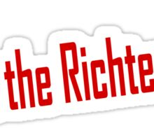 6.9 on the Richter scale Sticker
